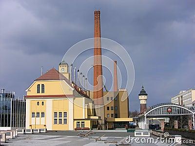 Brewery in the Czech Republic