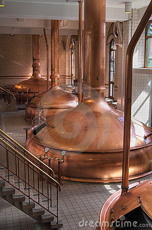 Free Brewery Workshop Royalty Free Stock Image - 2003426