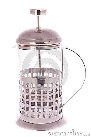 Brewing press device