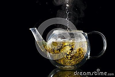 Brewing tea