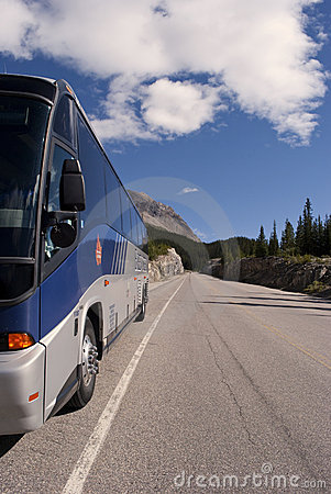 Brewster bus Editorial Stock Photo