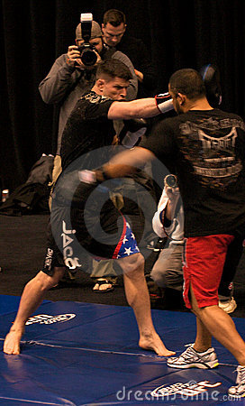 Brian Stann UFC 125 at MGM open workout 12/30/2010 Editorial Photo