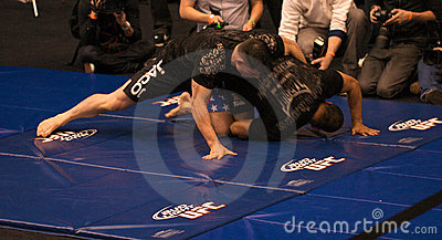 Brian Stann UFC 125 at MGM open workout 12/30/2010 Editorial Image