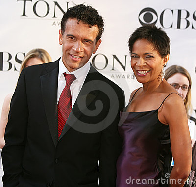 Brian Stokes Mitchell and Allyson Tucker Editorial Image
