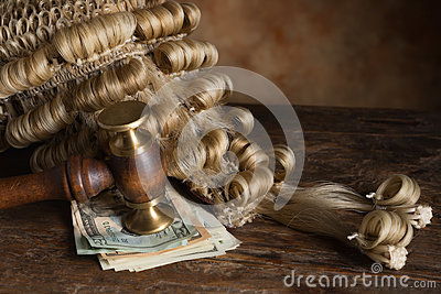 Bribery and corruption in court