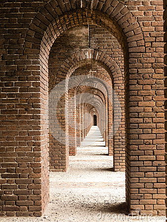 Brick Arches at Fort Jefferson