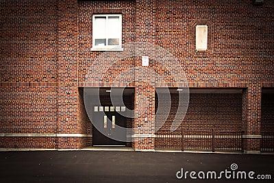 Brick Building Facade