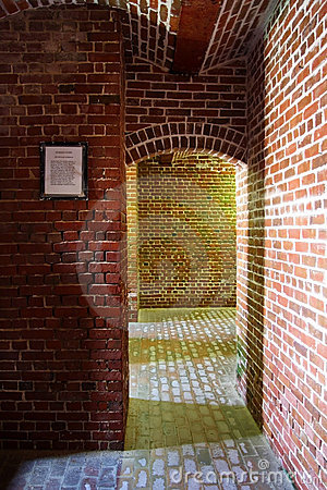 Brick Civl War Fort