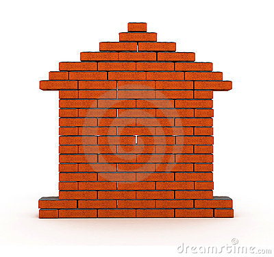 Free Brick House Royalty Free Stock Image - 2375706