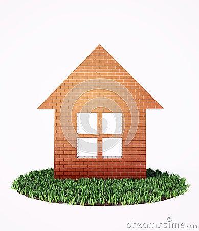 Brick house symbol