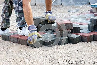 Brick pave