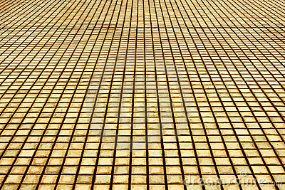 Brick pavement`