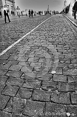 Free Brick Road Stock Photo - 1036030