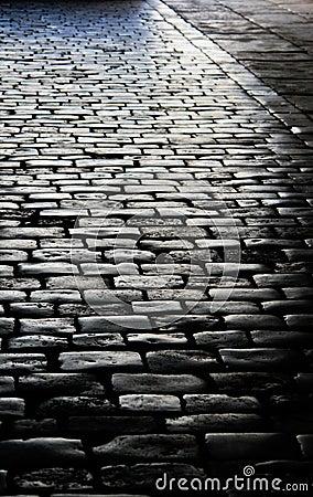 Free Brick Road Royalty Free Stock Photos - 13154628
