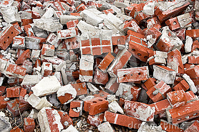 Brick Rubble Background