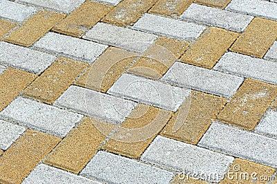 Brick sidewalk