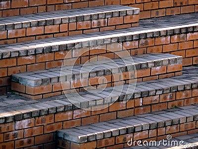Brick steps 1