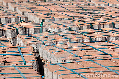 Brick Stone Palets Construction