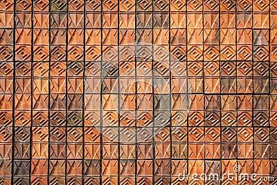 Brick stone pattern wall