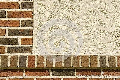 Brick And Stucco Facade Stock Photos - Image: 11004753