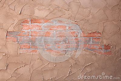 Brick And Stucco Texture Royalty Free Stock Images - Image: 24808649