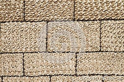 Brick theme icing