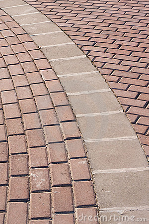 Free Brick Walk Way Stock Images - 16106414