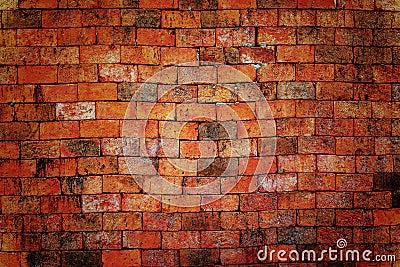 Brick wall bacground