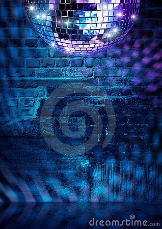 Free Brick Wall Disco Royalty Free Stock Image - 16716816