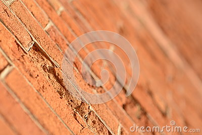Brick wall erosion