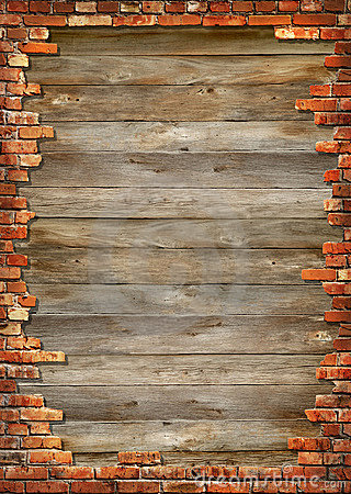 Free Brick Wall Grungy Frame Royalty Free Stock Photography - 4383797