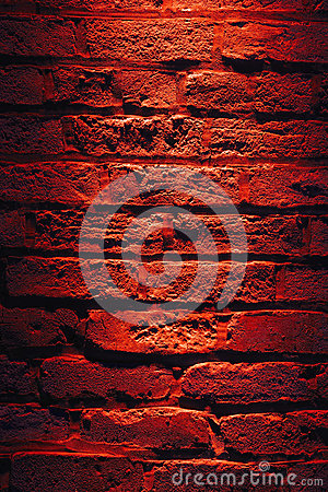 Red Light on Wall