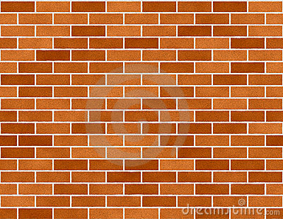 Brick Wall Seamless Background Small Bricks Royalty Free