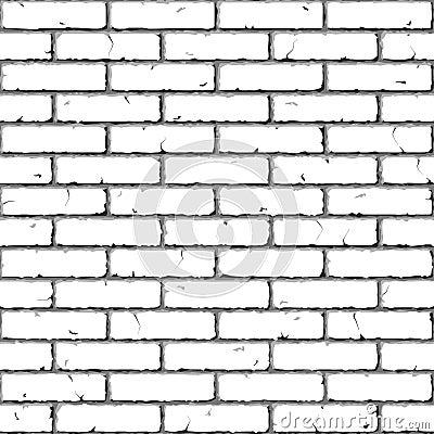 Free Brick Wall. Seamless Illustration. Stock Image - 11370671
