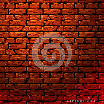 Brick wall seamless patern