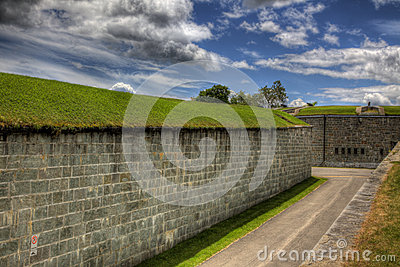 Brick Wall with Tunnel