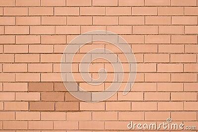 Brick wall yellow