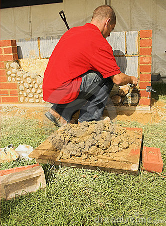 Free Bricklayer Stock Photography - 2529292