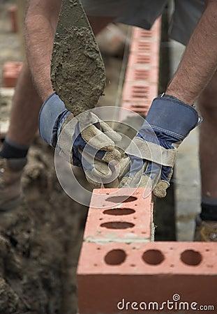Free Bricklayer Stock Image - 6185911
