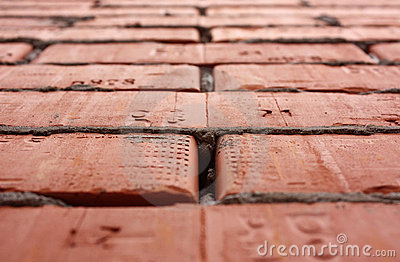 Bricks in high perspective