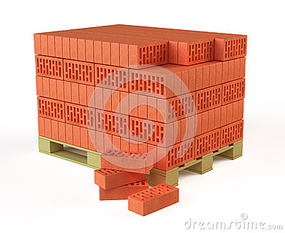 Bricks on Pallet