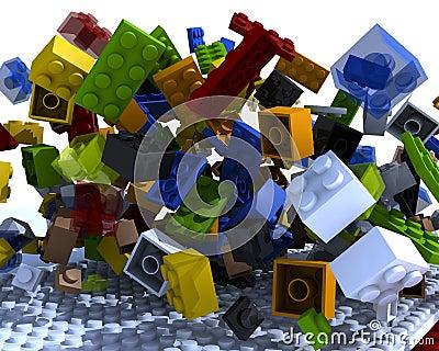 Bricks physics messed