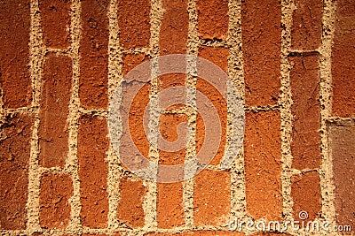 Bricks in vertical