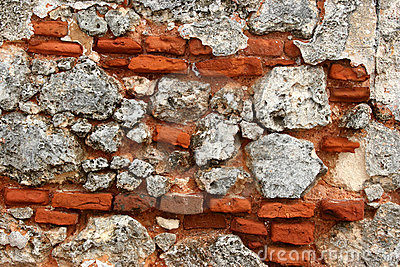 Bricks in a wall