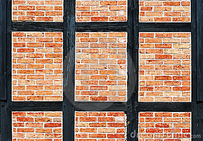 Bricks Wall With Timber Stock Images - Image: 11316614
