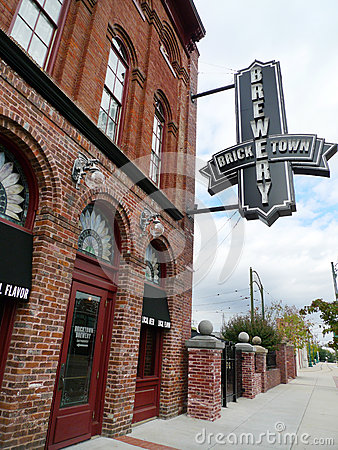 Free Bricktown Brewery Signage, Fort Smith, Arkansas Stock Photos - 79976143