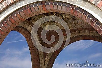 Brickwork arch
