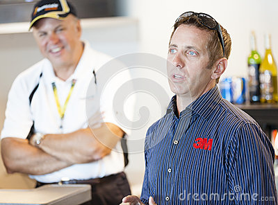 Brickyard 400, 2012 Editorial Stock Photo