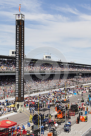 Brickyard 400, 2012 Editorial Image