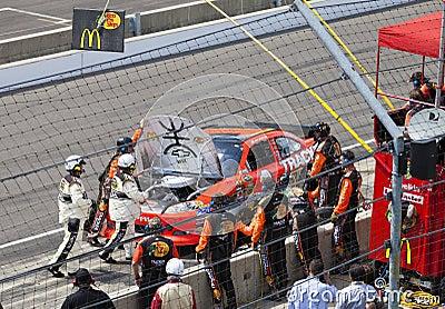 Brickyard 400, 2012 Editorial Stock Photo